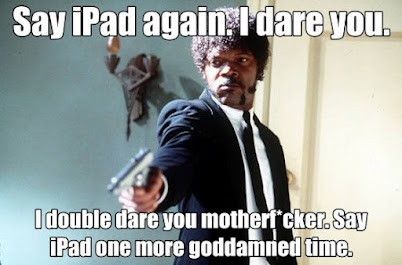 Say Ipad One More Time
